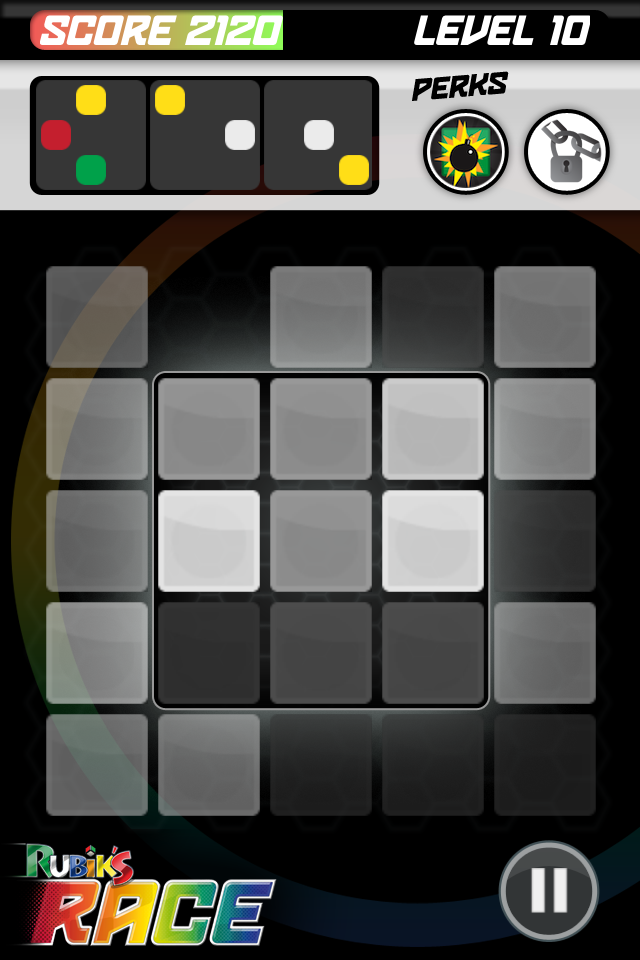 Screenshot Rubik's Race